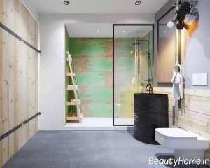 حمام با دیزاین شیک