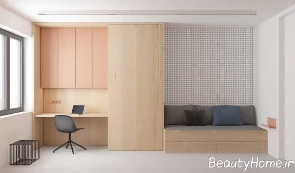 طراحی زیبا و متفاوت منزل