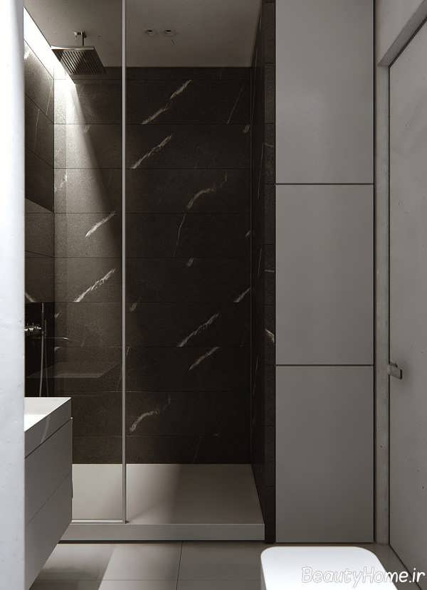 طراحی لاکچری محیط داخلی آپارتمان