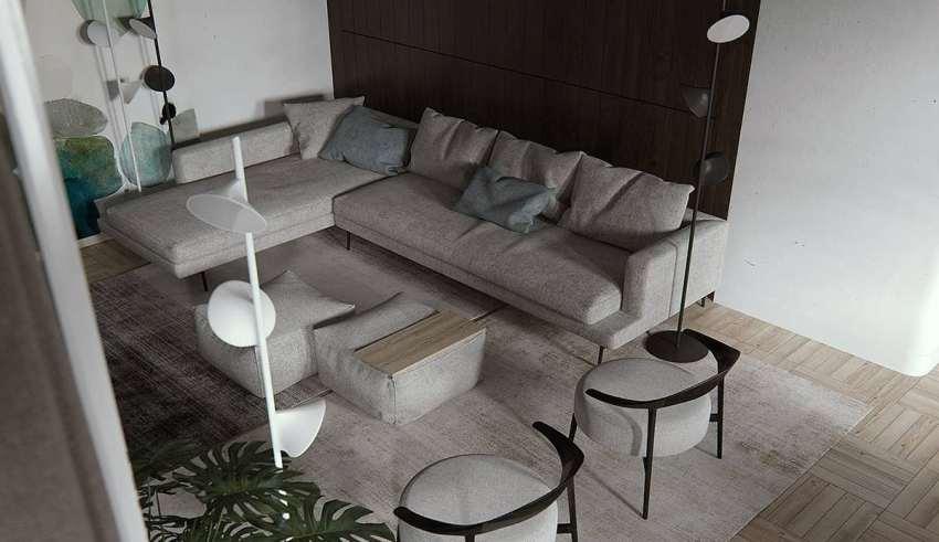 دیزاین زیبای آپارتمان