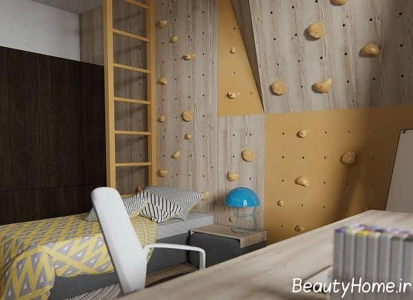 دیزاین ظریف اتاق نشیمن