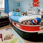 اتاق پسرانه با طرح قایق