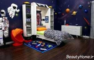 اتاق پسرانه با دیزاین ایده آل