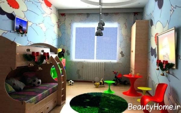 اتاق پسرانه با طراحی عالی