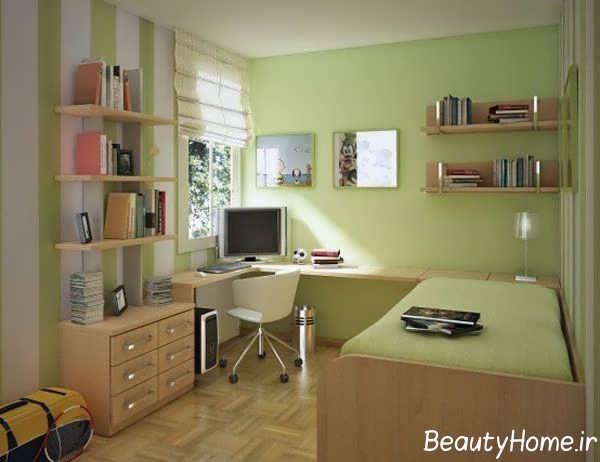 طراحی مدرن داخلی اتاق پسرانه