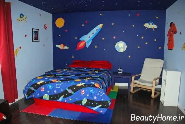 طراحی خلاقانه اتاق پسرانه