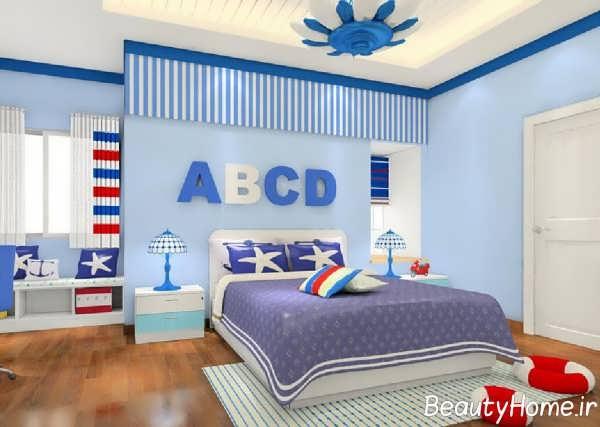 دیزاین جذاب اتاق پسرانه