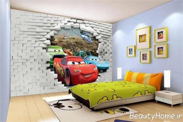 طراحی فانتزی اتاق پسرانه