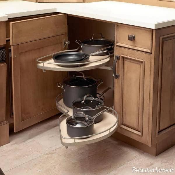 مدل های کابینت گوشه آشپزخانه