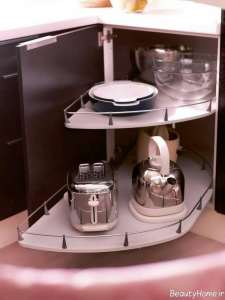 مدل کابینت برای گوشه آشپزخانه