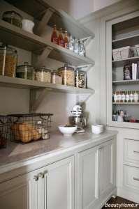 مدل کابینت سفید آشپزخانه