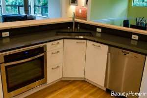 کابینت گوشه آشپزخانه