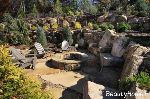 طراحی فوق العاده بخشی از منزل در محیط بیرون
