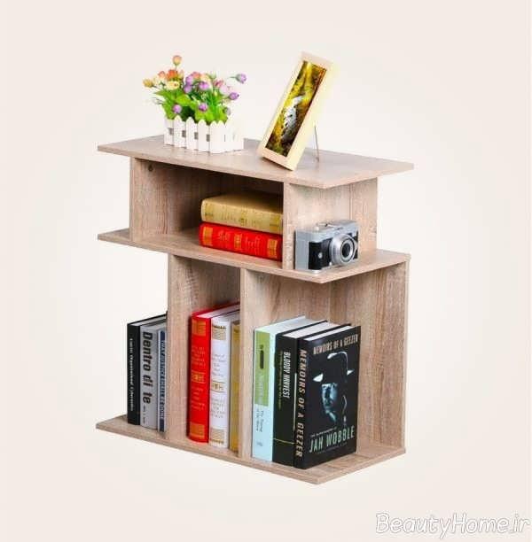 میز عسلی کتابخانه ای