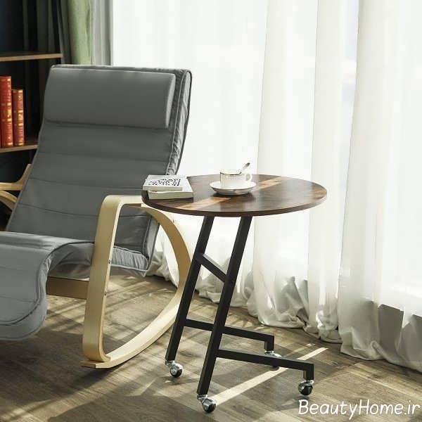 طراحی ظریف میز عسلی