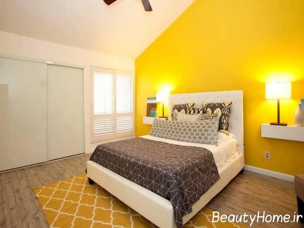 طراحی داخلی شیک و زیبا اتاق خواب