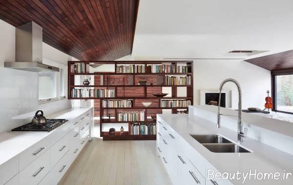 آشپزخانه با طراحی ایده آل گالی