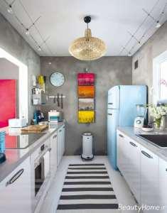آشپزخانه با دیزاین متفاوت گالی