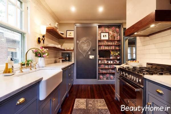 طراحی عالی گالی در آشپزخانه