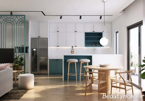 آشپزخانه با طراحی جدید گالی