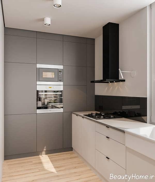 دیزاین شیک آپارتمان کوچک