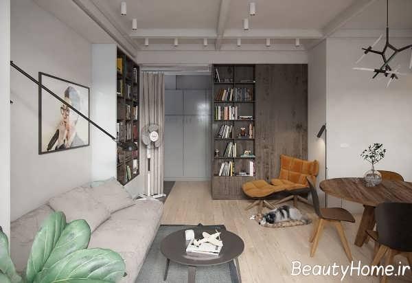 دیزاین شیک اتاق پذیرایی