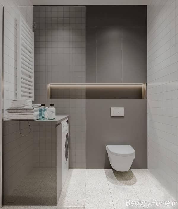 طراحی مدرن آپارتمان کوچک