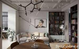 دیزاین زیبای آپارتمان های کوچک