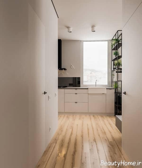 چیدمان زیبای آپارتمان کوچک
