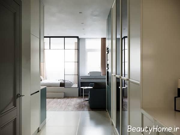 دکوراسیون زیبای آپارتمان کوچک