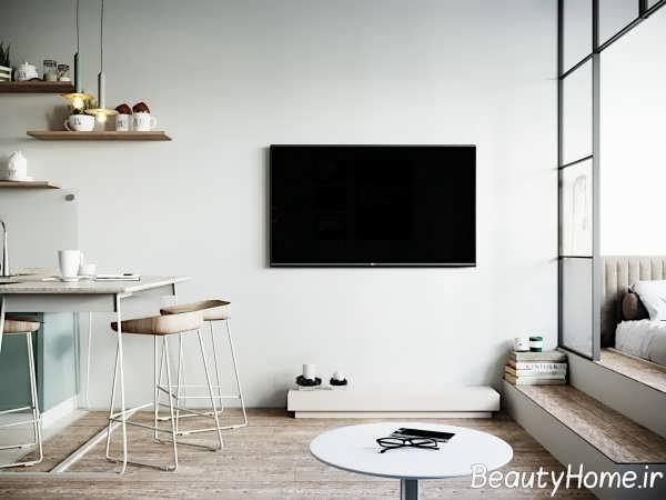 آپارتمان کوچک با طراحی فوق العاده