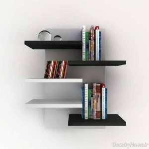 قفسه دیواری برای کتاب