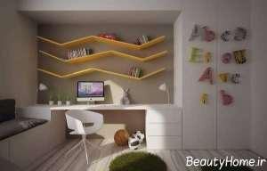 طراحی داخلی برای اتاق مطالعه