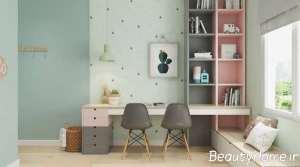 تزیین اتاق مطالعه برای کودک