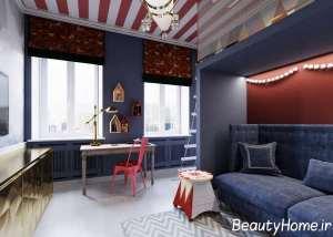 دیزاین داخلی اتاق مطالعه