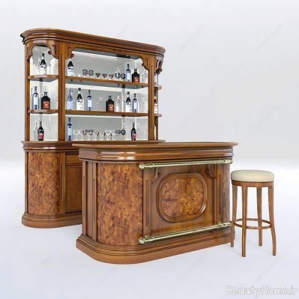 مدل میز بار کلاسیک