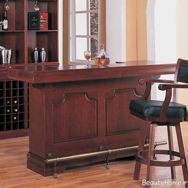 مدل میز بار چوبی و شیک