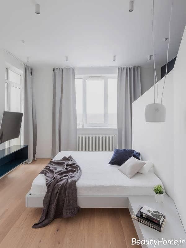 دکوراسیون زاویه دار اتاق خواب