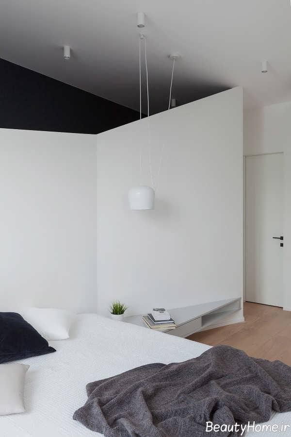 اتاق خواب زاویه دار