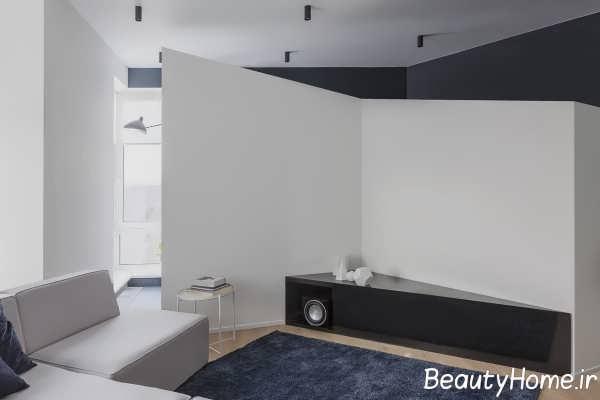 طراحی اتاق زاویه دار