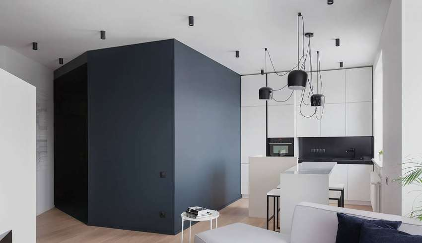طراحی جذاب منزل با اشکال هندسی