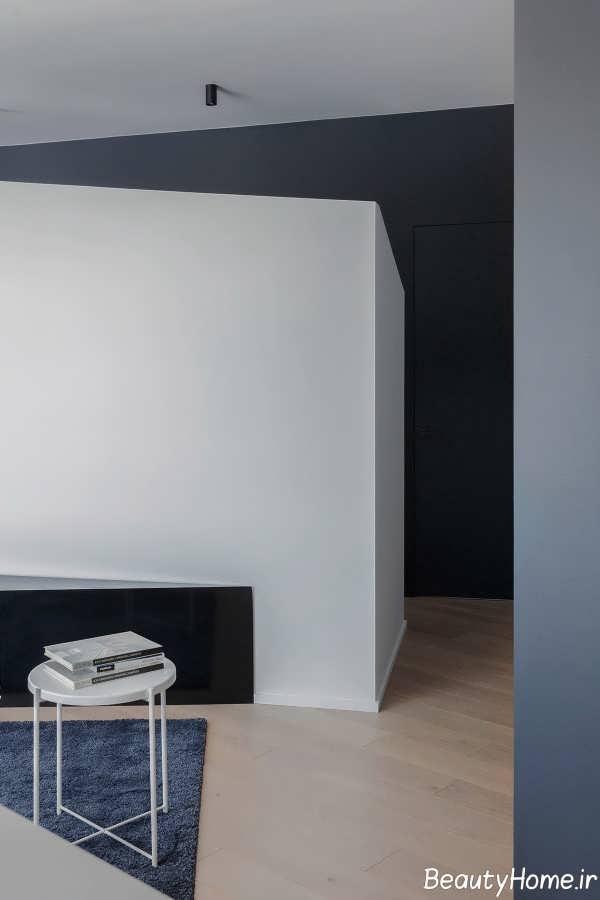 طراحی لاکچری اتاق با اشکال هندسی