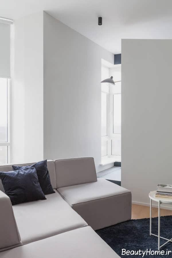 دیزاین زیبای منزل با اشکال هندسی