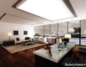 طراحی داخلی زیبا و بی نظیر شرکت بیمه