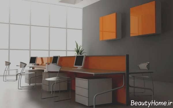 طراحی داخلی دفتر بیمه