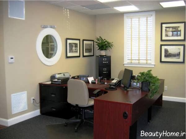 دکوراسیون داخلی دفتر بیمه
