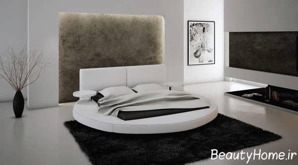 طرح زیبای تخت خواب
