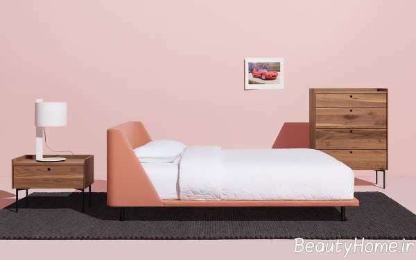 تخت خواب تک نفره زیبا