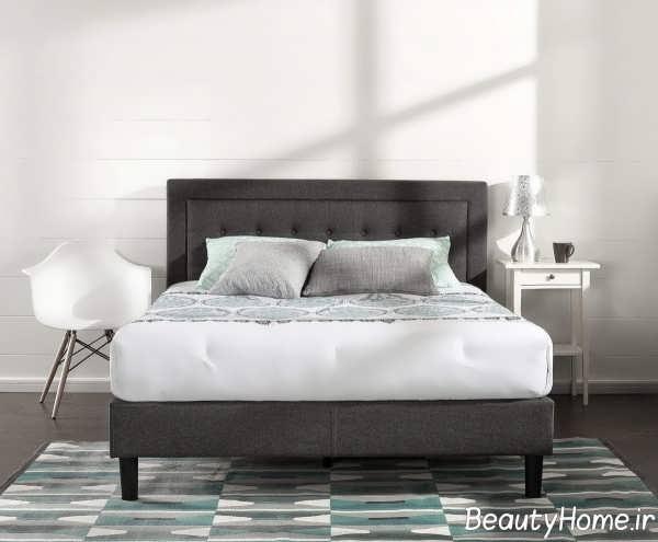 مدل زیبای تخت خواب دو نفره