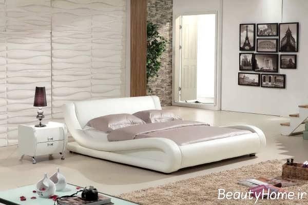 طراحی مدرن تخت خواب دو نفره
